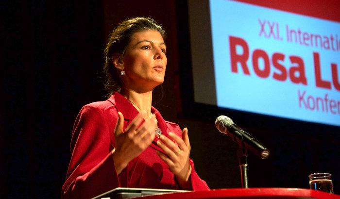 Sahra Wagenknecht. Foto: Gabriele Senft
